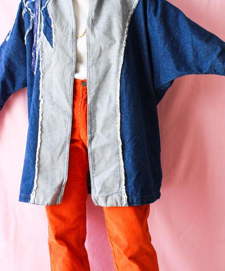 【tiny yearn】Over Denim Design Jacket