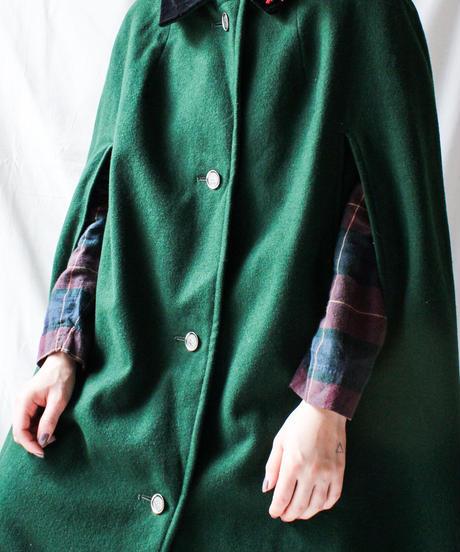 【Seek nur】Euro Wool Tyrol Cloak Coat