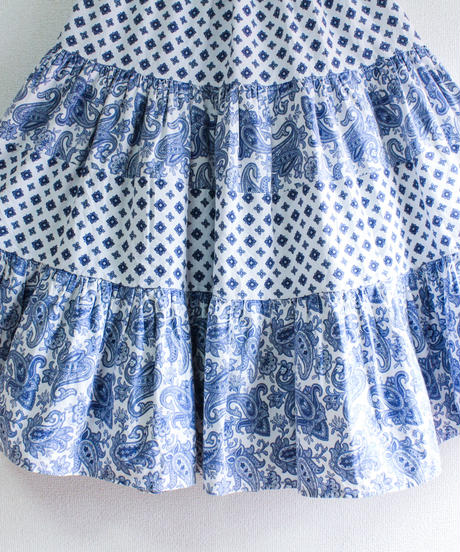 【tiny yearn】France Provence Tiered Skirt