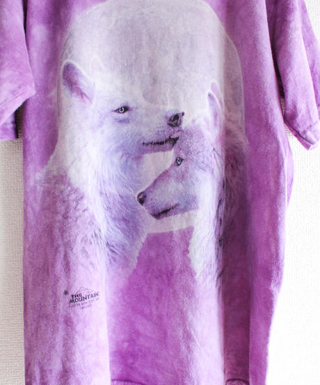 【tiny yearn】THE MOUNTAIN Wolf Print T-shirt
