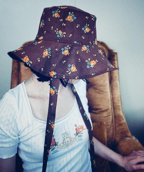 【Sway】<Orange Flowers> Boonie Hat
