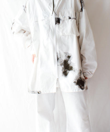 【Seek nur】Germany Army Reversible Snow Camo Hoodie