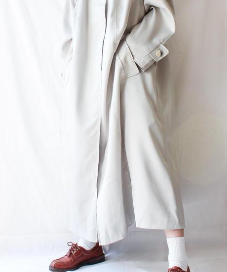 【Seek nur】Bal collar Spring Long Coat