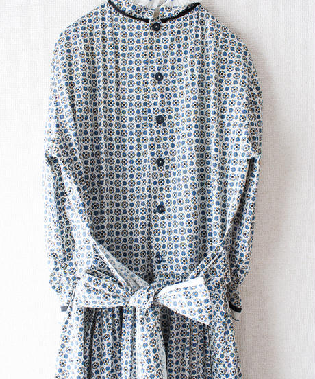 【Seek nur】1970's Cotton Maxi Dress