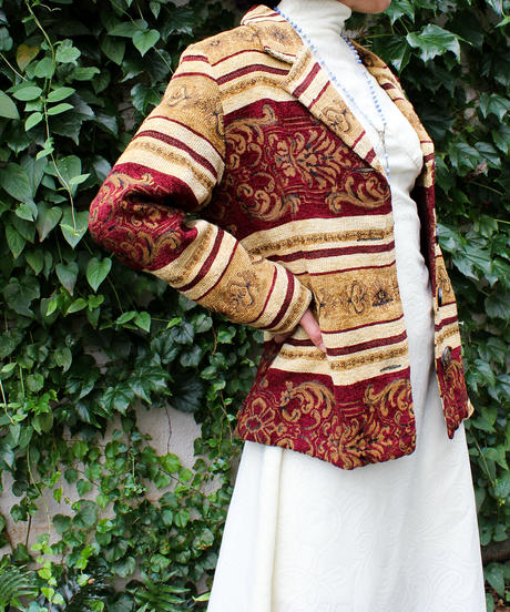 【Seek an nur】Gobelin Tailored Jacket