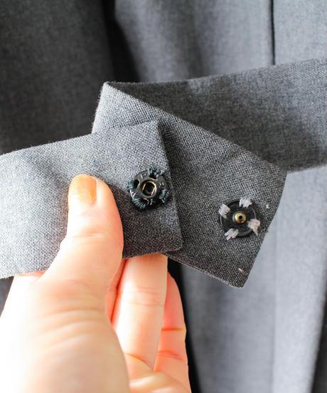 【Seek nur】Euro Pleats Design Smock Dress