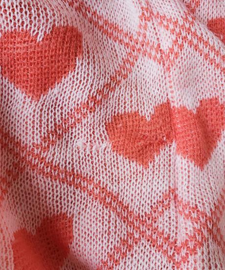 【tiny yearn】Euro Heart S/S Sweater
