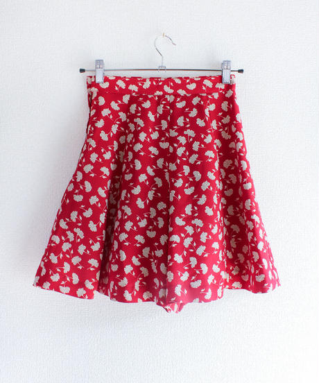 【tiny yearn】Flower Culotte Pants