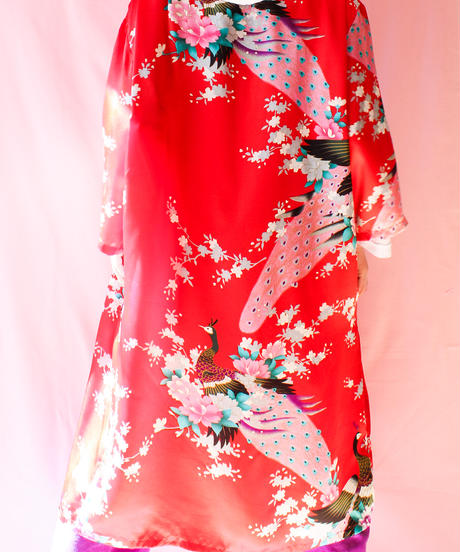 【tiny yearn】Flower Satin China Gown