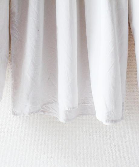 【Seek nur】VTG Euro White Frill Blouse
