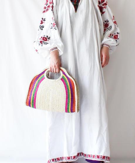 Handicraft raffia bags in Mexico/M