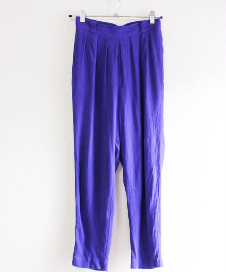 【tiny yearn】Purple Easy  Tapered Pants