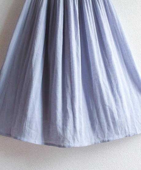 【Seek nur】Lace×Pleats Flare Dress