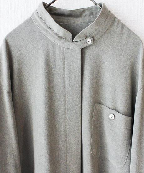 【Seek nur】Mao collar Over Blouse