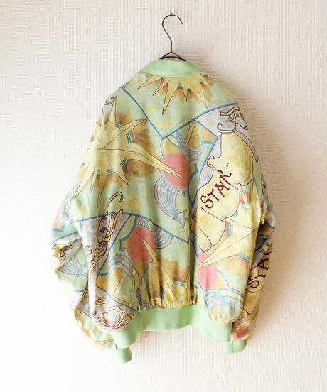 【tiny yearn】MULBERRY STREET Scarf Pattern Blouson