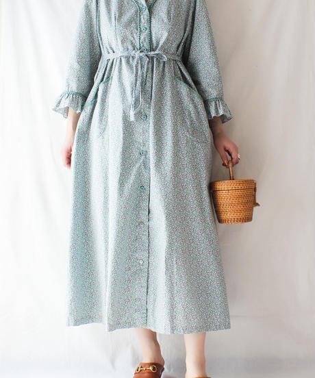 【Seek an nur】Flower Cotton Night Dress
