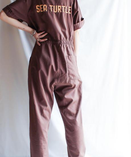 【Seek nur】Brown Work Jumpsuits