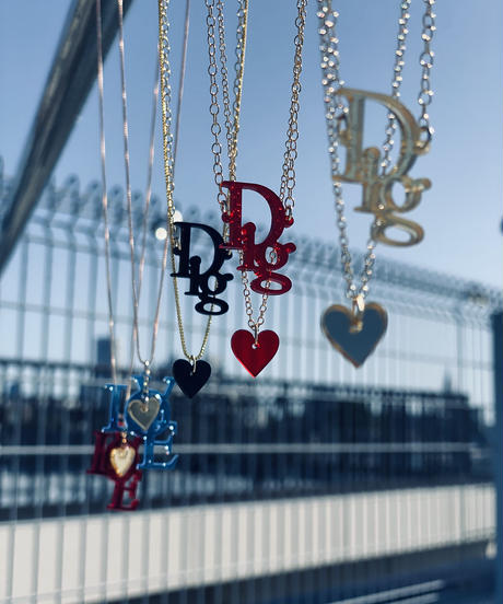 【Sway】<LOVE and Heart> necklace