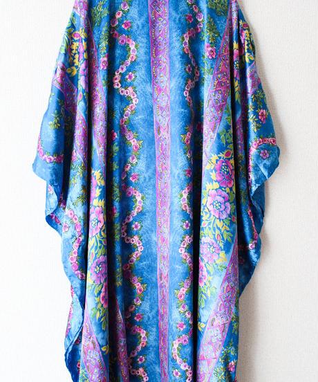 【tiny yearn】Art Flower Over Maxi Dress