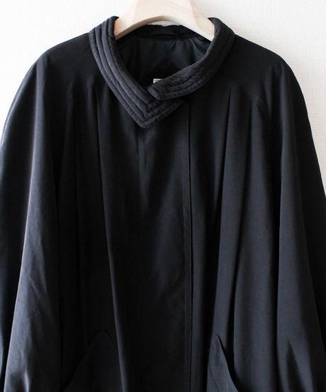 【Seek an nur】Black Pleats Over Long Jacket