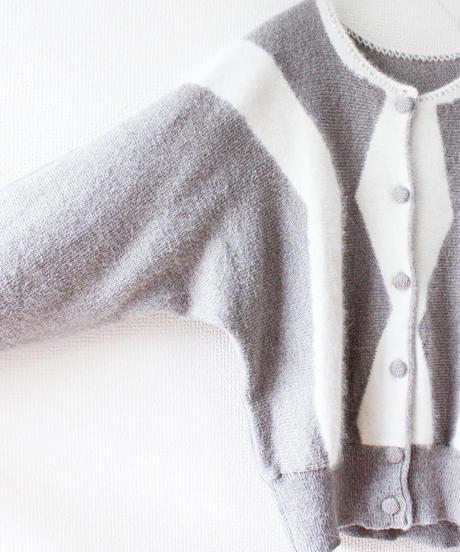 【Seek nur】Dolman Sleeve Short Cardigan