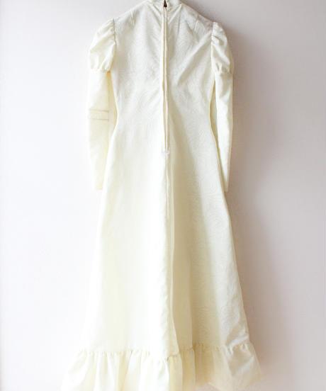 【Seek an nur】1970's Jacquard Maxi Dress