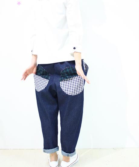 サルエル風デニムパンツ♡