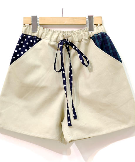 かわいいポケットのショートパンツ♡ベージュ