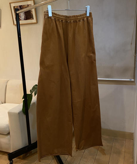 mid weight jersey_wide pants [2603715]