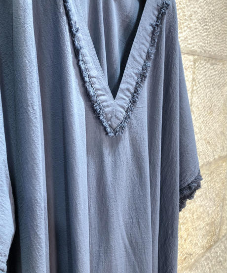 "Cotton kaftan dress ""4color""[203927688]"