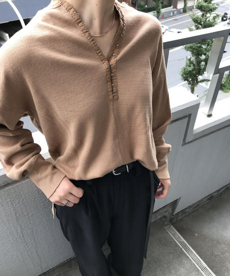 "Waffle back henry pull over  ""4color"" [205947739]"