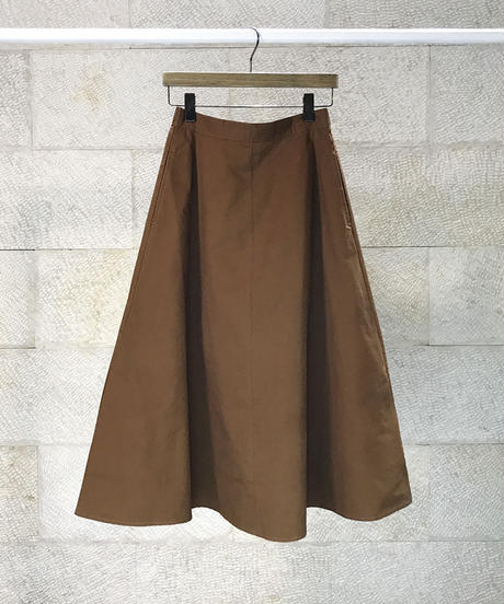 "Cotton twill circular skirt  ""2color""[209937526]"