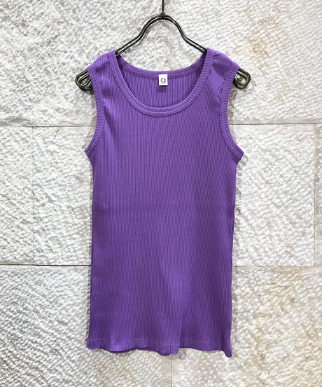 "Rib jersey  Tank top ""4color""[201927589]"