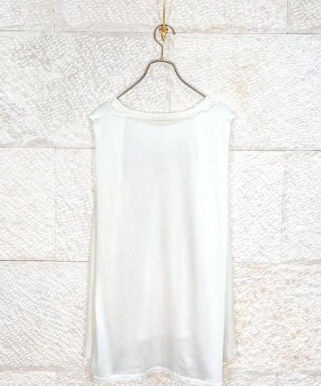 "Material mix waffle tank top  ""3color"" [204947696]"
