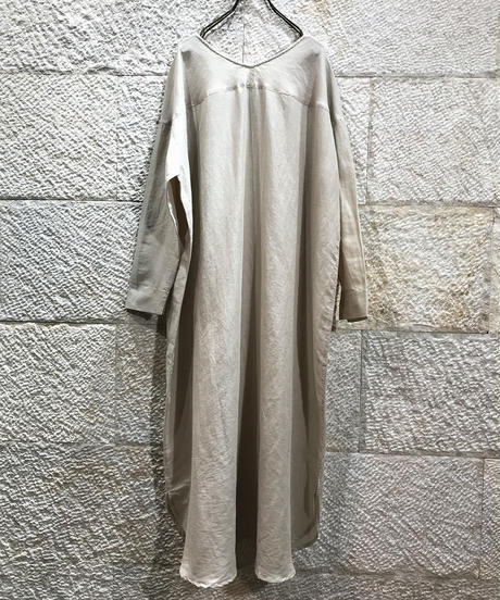 "cotton linen voile 2way dress ""3color"" [201927624]"