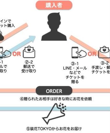 【フラワー・ギフトチケット】¥10,000コース