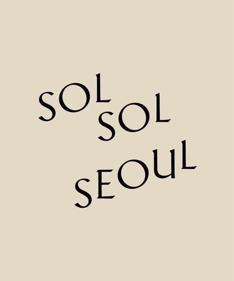 SOLSOL SEOUL 紙袋