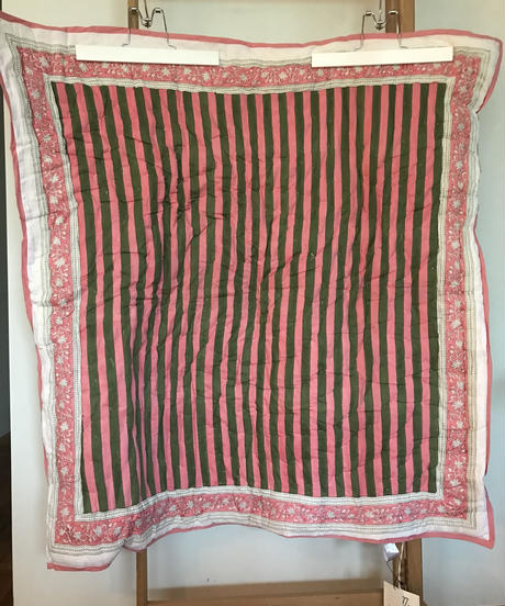 BABY BLANKET / THICK STRIPE