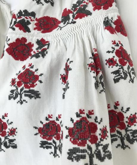 Vyshyvanka homespun vintage dress #8