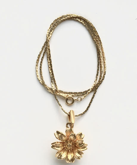 kenzo gold flower
