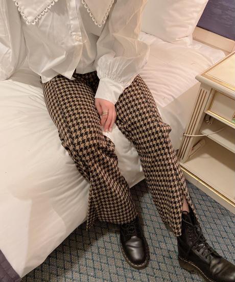 check slit pants