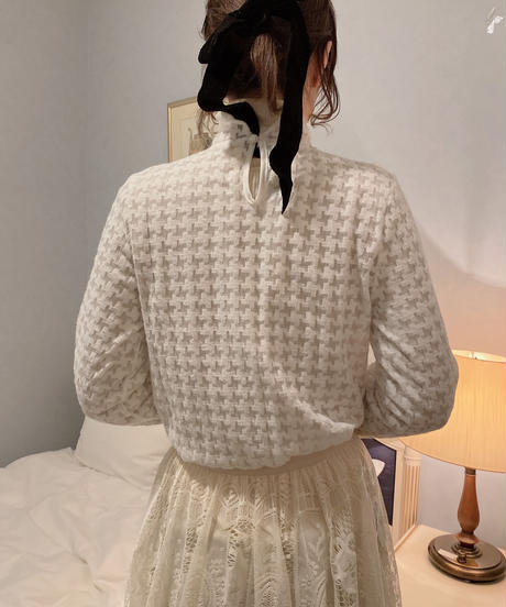 lace tops white