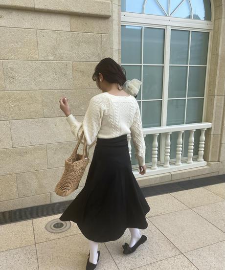 paris girl knit & skirt set