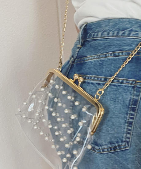 pearl clear bag