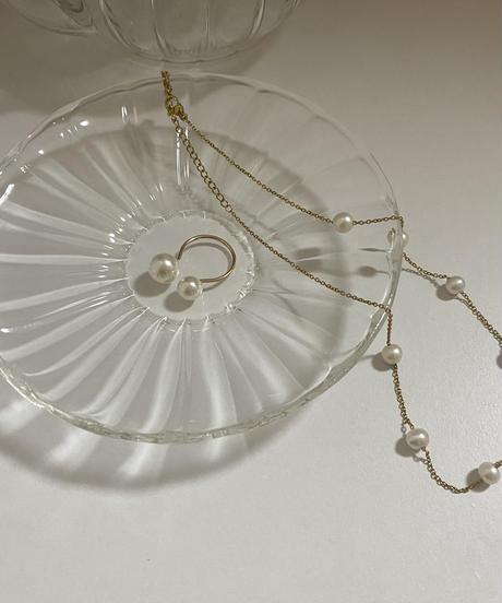 plein pearl necklace