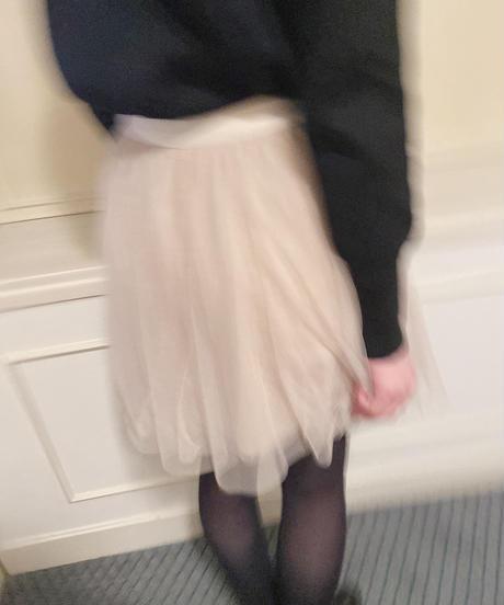 Select tulle mini skirt