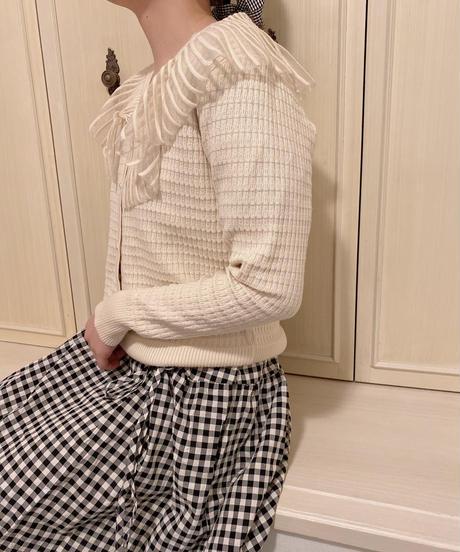 design knit cardigan