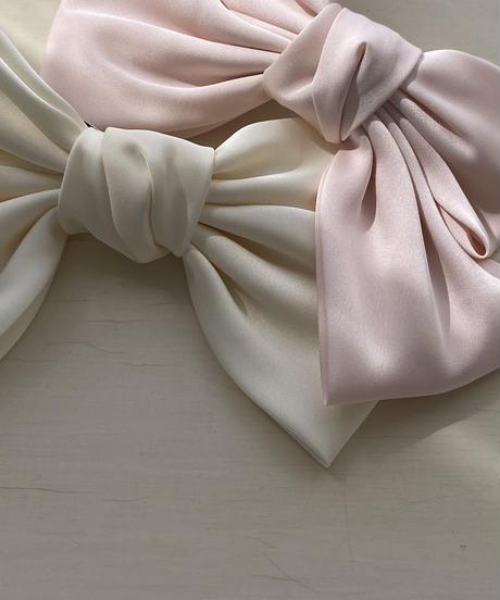 Lisse ribbon barrette