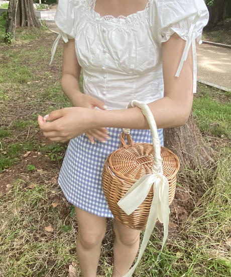 chouchou basket bag