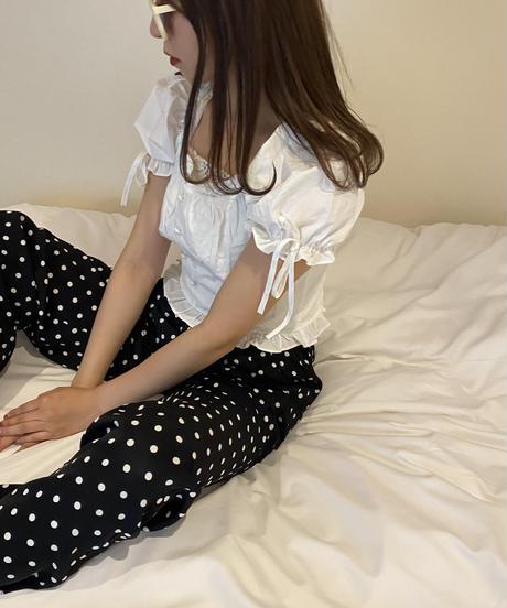 French dot pants